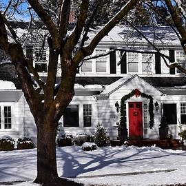 Bend Historic District Home in Winter by Dana Hardy