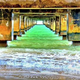 Beneath the Concrete Pier by DJ Florek