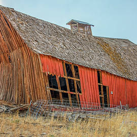 Bent 'n Leaning Barn ... by Judy Foote-Belleci