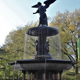 Bethesda Fountain by Carol McGrath