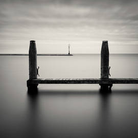 Beyond the Jetty by Dave Bowman