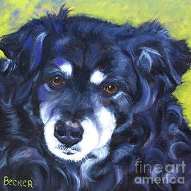 BFF Beloved Border Collie by Susan A Becker