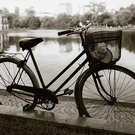 Bicycle by Hoan Kiem Lake by Dave Bowman