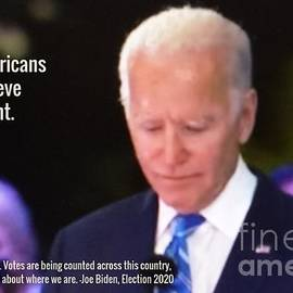 Biden Believe Count Election 2020