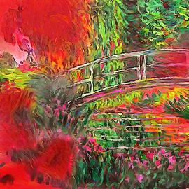 Bidge over the Water Lillies by Mario Carini