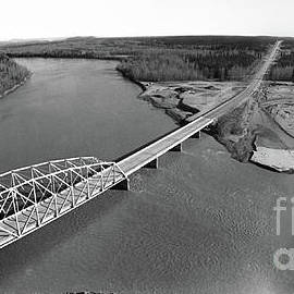 Big Delta Tanana River Bridge Richardson Highway, Big Delta, Sou by California Views Archives Mr Pat Hathaway Archives