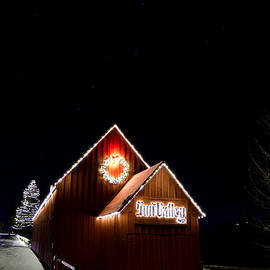 Big Dipper With Sun Valley Barn by Michael Morse