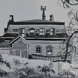 Big Old House  by Lise PICHE