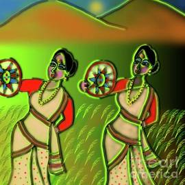 Bihu Dance by Latha Gokuldas Panicker