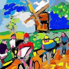 Bike Racing by Samuel Zylstra