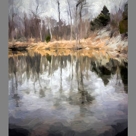 Billy Goat Trail Pond Poster by Francis Sullivan