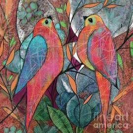 Bird Deco by Suki Michelle