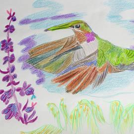 Garden Doves by Meryl Goudey