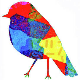 Bird Silhouette Abstract by Genevieve Esson