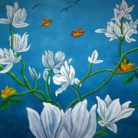 Bird's garden by Tara Krishna