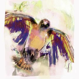 Birds Golden Eagle by Zsanan Studio