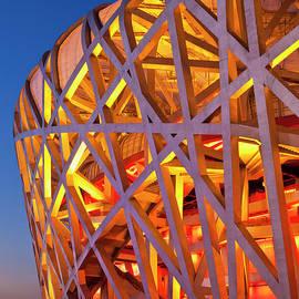 Bird's Nest Stadium, Beijing, China by Neale And Judith Clark