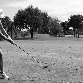 Black and White Golf  by Dianna Tatkow