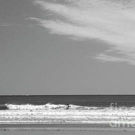 Black and White Ocean by Ruth H Curtis