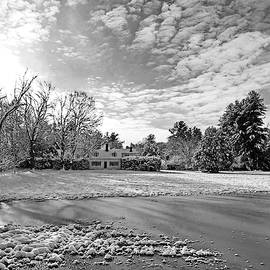 Black and White Winter by Lyuba Filatova