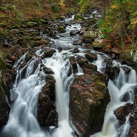 Black Linn Falls by Cliff Green