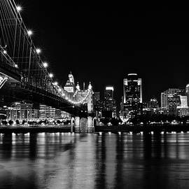 Black Night View from Covington by Frozen in Time Fine Art Photography