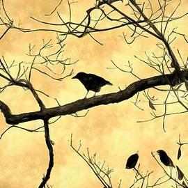Blackbird For Halloween by Rick Davis