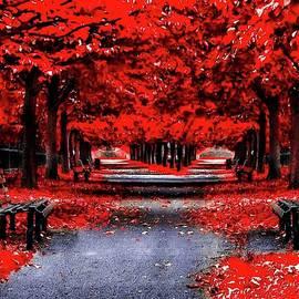 Bleeding Red by Teresa Trotter