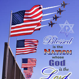 Blessed Is The Nation Whose God Is The LORD by Brian Tada