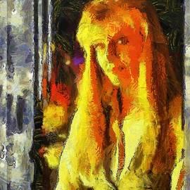 Blonde Portrait by Mario Carini