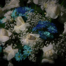Blue and White by Ernie Echols