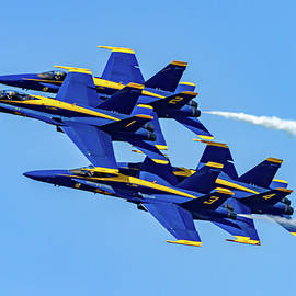 Blue Angels And Blue Skys by Bill Gallagher