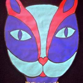 Blue Cat by Stephanie Moore
