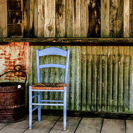 Blue Chair by Sandra Selle Rodriguez