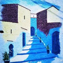 Blue City by Jarek Filipowicz