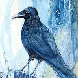 Blue Crow by Robin Pedrero