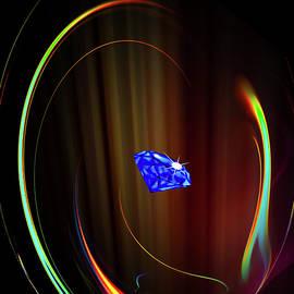 Blue Diamond 2 by Walter Zettl