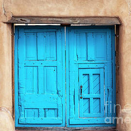 Blue Door by Roselynne Broussard