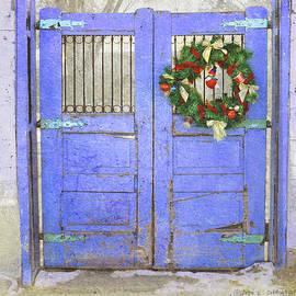 Blue Door Southwest Wreath by R christopher Vest