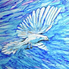 Blue Dove Holy Spirit  by Patty Donoghue