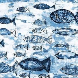 Blue Fish by Ramona Matei
