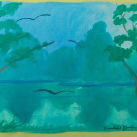 Blue Glide by Kendall Kessler