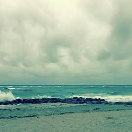 Blue Green Horizon by Melissa Mintz