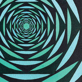 Blue-Green Passage No1 by Peter Antos
