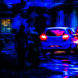 Blue hour walk of couple by Malhar Upadhyay
