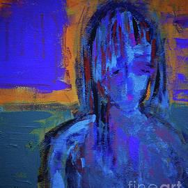 Blue Lady by Zsanan Studio