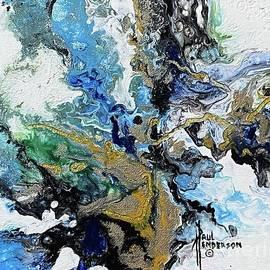 Blue Leaf II by Paul Henderson