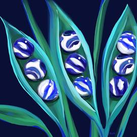Blue Marble Pods by Ry M