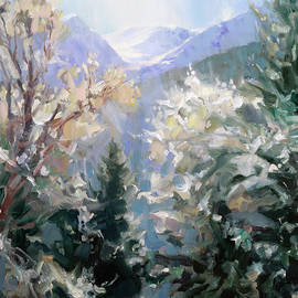 Blue Mist by Steve Henderson
