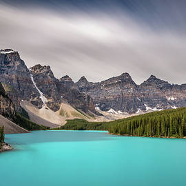 Blue Moraine Lake Banff by Pierre Leclerc Photography